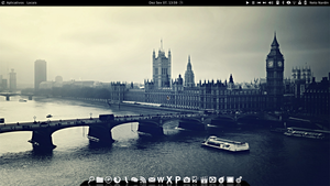 Black and white xfce by netonardin
