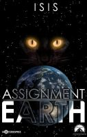 Fan-made Assignment Earth Poster Isis The Cat by Lexxyzgraphix