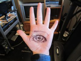Eye hand thing. by thewizisin