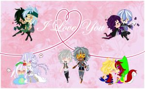 SV I love you -chibis circus- by Bludile