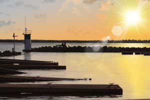 Aylmer's marina 2 (Photomanipulated) by EaglesPhotography