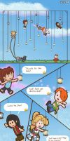 Paper Lamp Jump Page 2 by Sharulia