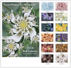 Fractal Flowers For All Season by Mignon