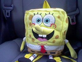 SpongeBob going on a long road trip. by Angelgirl10