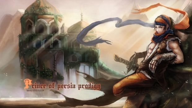 prince of persia by krad999