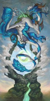 2016 Zodiac Dragons Gemini by The-SixthLeafClover