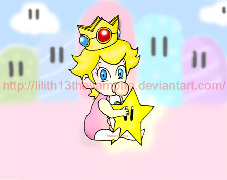 Baby Peach for Baby Aiden by Lilith13thevampire