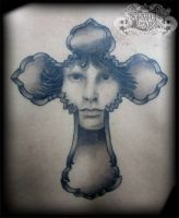 Jim Morrison by state-of-art-tattoo