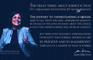 Ann Druyan on Science.. by rationalhub