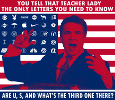 Rick Perry on Education by Party9999999