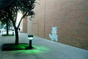 Chalk Luigi by yooki42