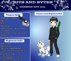 BnB Application - Tatsuki and Spitzmon by Infernape77