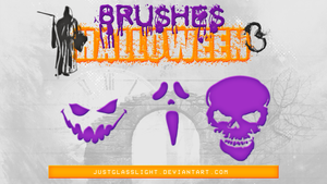 +BRUSHES Halloween 3 by JustGlassLight