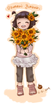.: Little Sunflower :. by FnFiNdOART