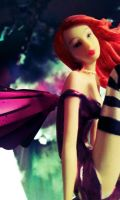 Flame haired Fairy by DarkAliceDreams