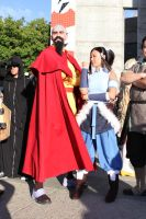 Fanimecon 2012 Avatar Legend of korra  Tenzen by KUZU-RYU