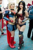 Superwoman and Wonderwoman by EriTesPhoto
