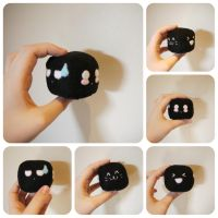 Emotion Cube Plushie (Face Practice) by amzee21200