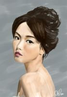 Digital portrait practice by arrhenius-ohlm
