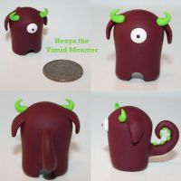 Henya the Timid Monster by TimidMonsters