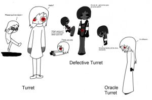 Humanized Turrets by Acro111