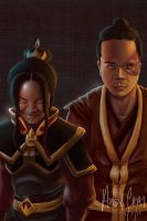 Fire Nation Heirs by andychhi