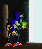 metal sonic discovery by Unique-Shadow