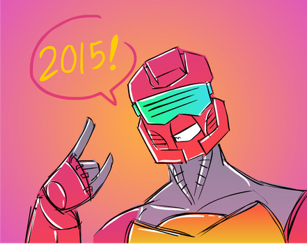 2015 IS HERE by gelboyc