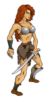 some random barbarian by Cotopult