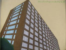 3-Point Perspective Building by panhead121