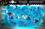 Christmas Ice Skating Collab 2014 by MrPr1993
