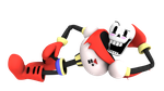 Papyrus from undertale, render2~ by Nibroc-Rock