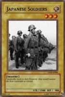 Japanese Soldiers card by Mexicano27
