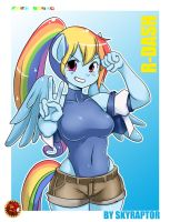 Rainbow Dash by skyraptor
