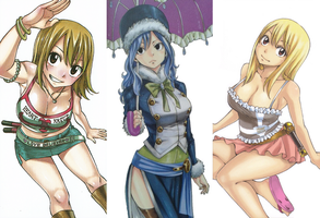 Fairy Tail Inner Covers by HibouMan