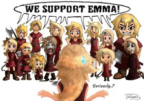 We Support Emma! by Elfenzorn