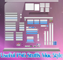 Mac Style Stuffs PNG by dreamkenan