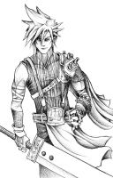 Cloud Strife by JeffyP