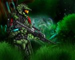 Halo Clairvoyance- Alliance by Guyver89