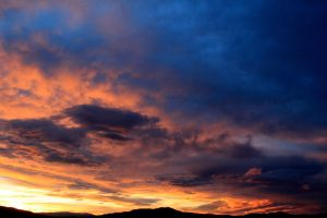 Sunset Over Reno by sellsworth
