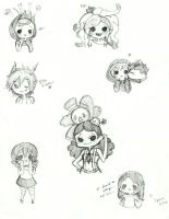 Fan Doodles by Ask-MusicPrincess3rd