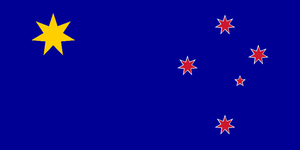 Flag of the Oceania Union by Richard-Onasi