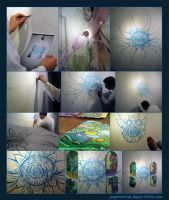 Wall painting by dehydrated1