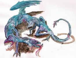 Wyrm of Chaos by EnigmaticElocution