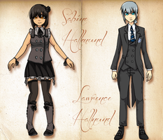 Black Butler OCs by Arkay9