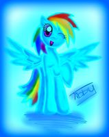 RAINBOW DASHIE collaaaaab with Tibby by Silver-chan2000