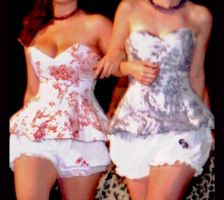 Toille Corset Bloomer Duo by MaryPoppins