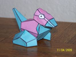 Porygon papercraft by Draco3013