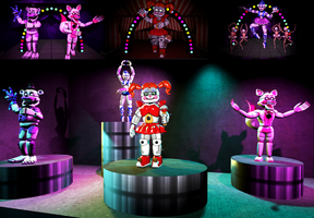 Welcome to... Another Circus Baby's Pizza World! by KittenLover75