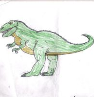 My most favorite Dinosaur by trexking45